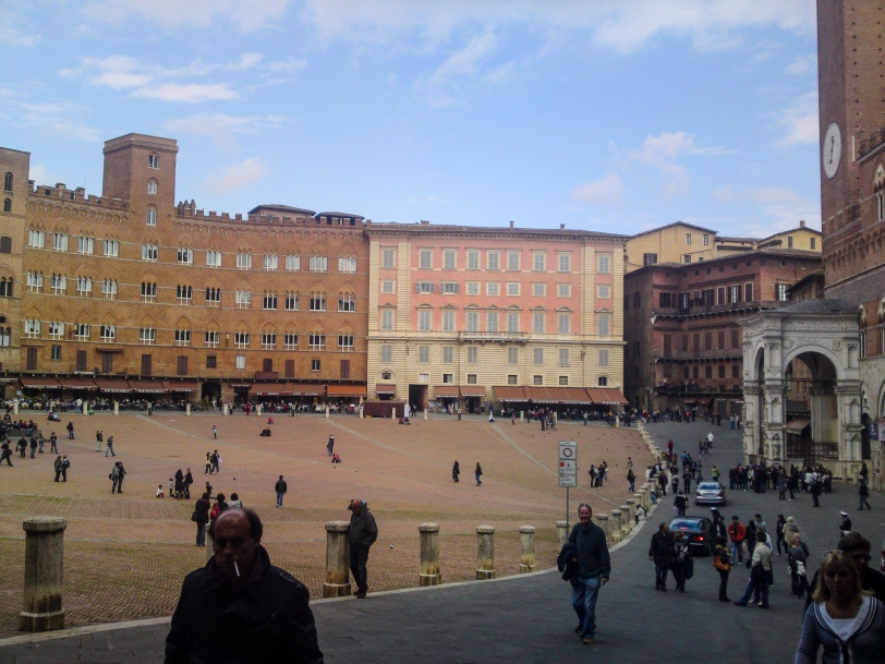 Piazza del Campo - racetrack for the Palio